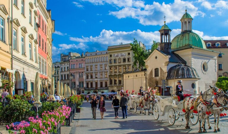 Poland's Most Beautiful and Sorrowful City; Krakow